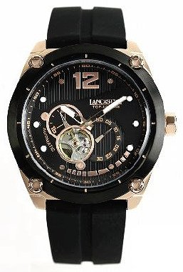 スタイリッシュな本格機械式時計「トップ アップ タイム」