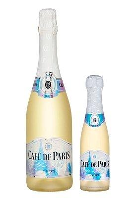 『カフェ・ド・パリ パリの雪』