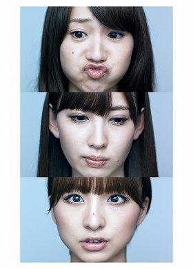 大島、小嶋、篠田さんによる自慢(?)の「変顔」