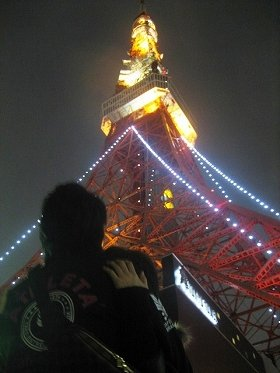 12月は恋人と東京タワーへ