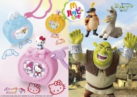 (C)1976,2001,2002,2004,2010 SANRIO CO.,LTD.APPROVAL NO.G511155 (C)Shrek Forever After TM&(C)2010 DreamWorks Animation L.L.C