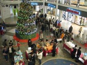 11月20日に行われた「クリスマス・マルシェ」の様子