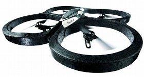 パロット社が開発した空を舞うゲーム機「パロットAR.Drone(エイアール・ドローン)」