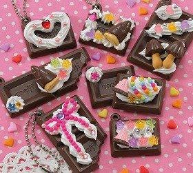 本物のチョコレートみたいなアクセサリーです