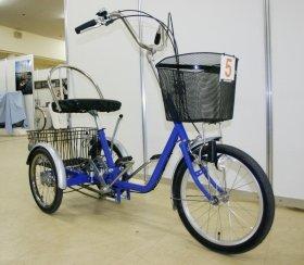 「身障者・高齢者用自転車コーナー」もある