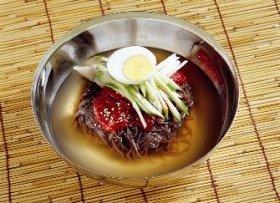 ととり冷麺(どんぐり冷麺)で夏バテ予防!