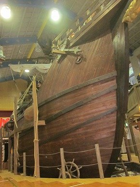 これが「巨大カタロニア船」です!