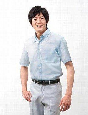 ペールブルーの「アイスタッチ ワイシャツ」