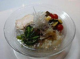 ふすま麺とスープのバランスが良い!