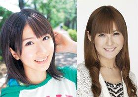 写真はAKB48の石田晴香さん(左)と、モデル・タレントの椿姫彩菜さん(右)