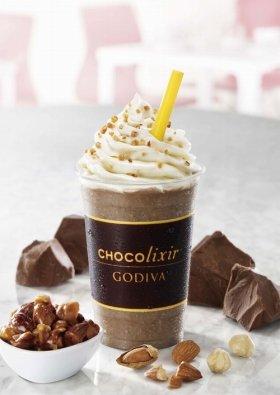 写真は「ショコリキサー ミルクチョコレートナッツ」(580円)