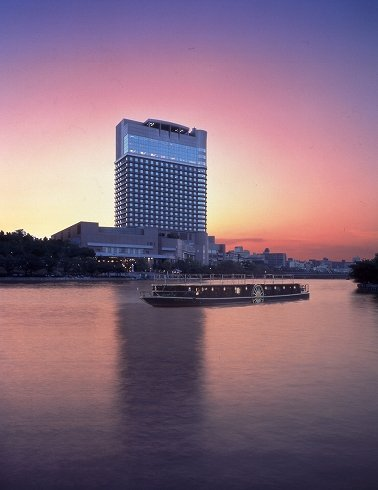 写真は、帝国ホテル大阪