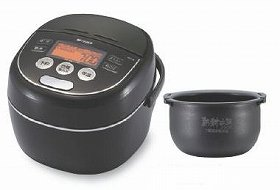 土鍋ごはんのおいしさに迫る新たな炊飯テクノロジーを搭載!(写真は、JKP‐A型)