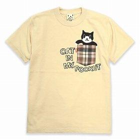 トラッドなチェック柄がお洒落な『POKET CAT』