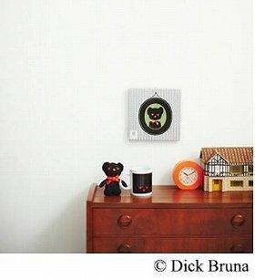 黒×オレンジが印象的な「ブラック・ベア」(C)DickBruna