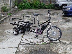 貨物用三輪自転車れいだあ