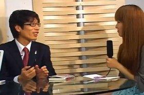 「J-CAST THE FRIDAY」に出演する竹田恒泰さん