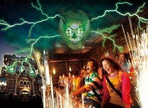 恐怖と絶叫の渦に(C)Disney