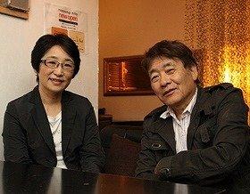 対談を行ったハービー・山口氏(写真右)とタムロンの千代田路子氏(左)