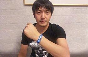 Balance Xtremeを身に着ける岩隈久志選手