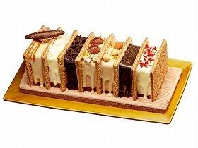 写真は、川越シェフの「ミニストップオリジナルクリスマスケーキ」