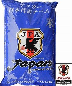 被災地支援として、茨城県産の米を使用している