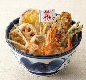 揚げたての天ぷらで点を「アゲる」