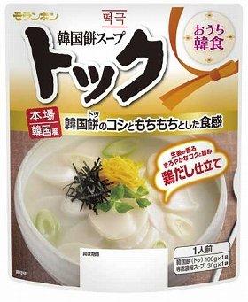 『おうち韓食(はんしょく)韓国餅スープ トック』