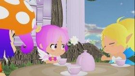 左からコロコロ、ピクピク、シルシル。全編3Dの本作だが、表情部分のみは2Dアニメで制作。親しみやすいかわいさを目指した (C)2代目gdgd妖精s