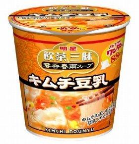 「明星 飲茶三昧 雲呑春雨スープ キムチ豆乳」