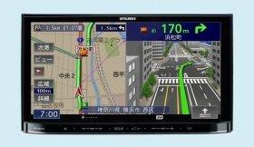 ワンセグ専用地上デジタルTVチューナー(1seg)内蔵、7V型ワイドVGAモニタ/DVD/CD/Bluetooth内蔵、メモリーカーナビゲーションシステム「NR-MZ03」