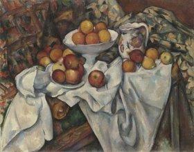 ポール・セザンヌ 《りんごとオレンジ》 1899年頃 オルセー美術館 ©RMN (Musée d'Orsay) / Hervé Lewandowski / distributed by AMF