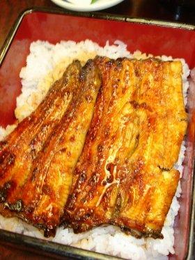 天然うなぎのうな丼(「魚河岸料理 太助」)