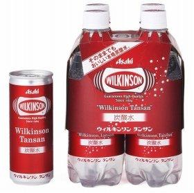 「ウィルキンソン タンサン PET500ml×4本マルチパック、缶250ml」