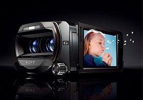 撮影したその場で3D映像を確認できる