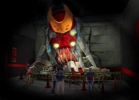 「実物大エヴァンゲリオン2号機獣化第二形態THE・BEAST」完成イメージ