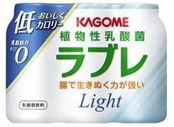 カゴメから2011年2月22日に発売される「植物性乳酸菌ラブレLight」