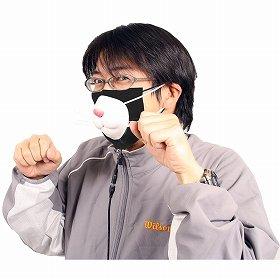 ストレス知らずの猫型ハイテクマスク