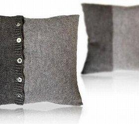スカードウール100%の毛糸で仕上げたクッションカバー(「T&Y」さん作)