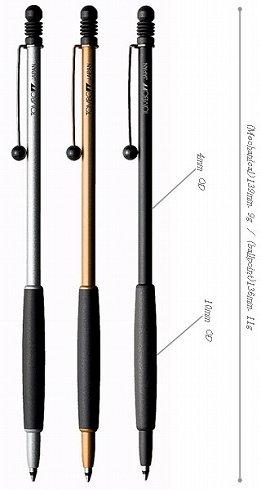 全長(ボールペン)136ミリ