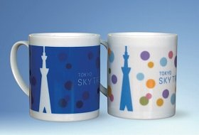 画像は「チェンジマグカップ」温かい飲み物を入れると色が変わる