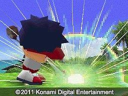 ナイスショットで爽快に (C)2011 Konami Digital Entertainment