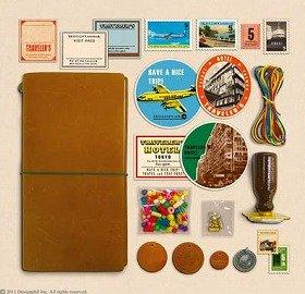 毎日を旅するように過ごすノートです