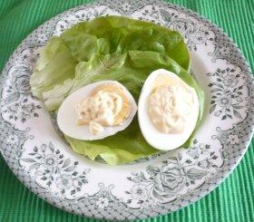 ゆで卵マヨネーズの基本形はこんな感じ