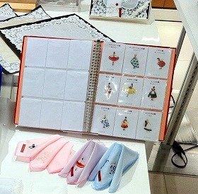 ハンカチ刺繍(ししゅう)カスタマイズフェア