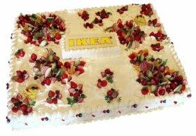 5周年をバースデーケーキとお祝い
