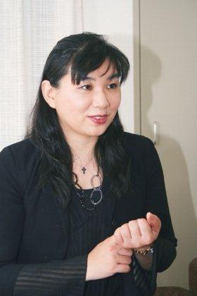 「エアコンの節電術」を語るダイキン工業の空調生産本部商品開発グループ、香川早苗さん