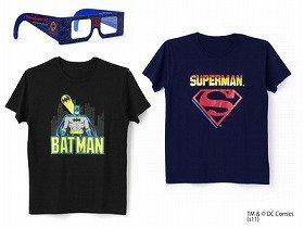 左:BADMAN、右:SUPERMAN