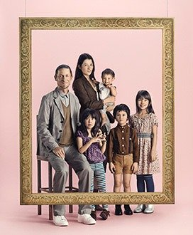 テーマは、家族