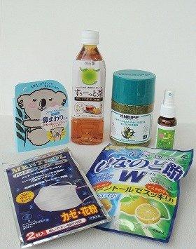 「キリン からだ想い茶 すぅーっと茶」をはじめとした、鼻づまりを改善するすーっとする成分入り商品の数々